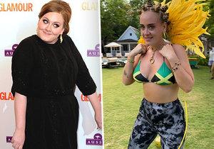 Adele se ukázala v plavkách