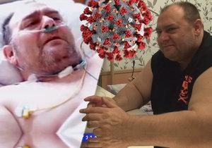 Redaktor Nedělního Blesku Jindřich Bíč napsal knihu o nejslavnějším pacientovi s covidem-19 v Česku. Jmenuje se Z deníku pacienta č. 1 a pojednává o 127 dnech, kdy taxikář Robert Markovič bojoval kvůli koronaviru o svůj život (ilustrační foto).