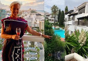 Nový výhled Zuzy Belohorcové není tak epický jako v Miami...