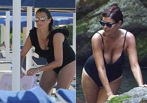 Alena Šeredová a přítelkyně jejího ex manžela Ilaria jsou jako vejce vejci.