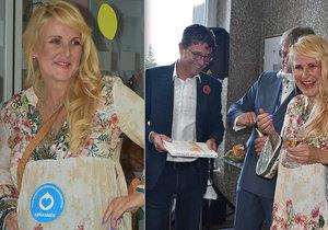Vendula Pizingerová (48) v 8. měsíci: Přibrala jen 6 kilo!