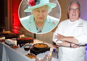 Bývalý kuchař o královně Alžbětě II.:  Hamburgery jí příborem!