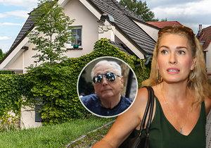 Rána pro vdovu Olgu Menzelovou: Co teď bude s vilou za 20 milionů a obřími splátkami?!