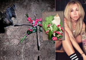 Kaira Hrachovcová je smutná ze smrti kocourka.