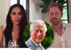 Princ Charles už nebude financovat Meghan a Harryho