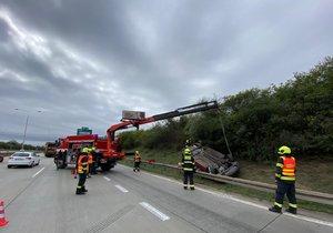 Nehoda na Pražském okruhu, 10. září 2020.
