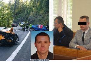 Vojtěch Ch. u soudu. V září 2019 podle policie a obžaloby zavinil smrt generála Milana Jakubů.