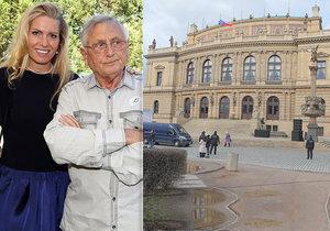 Olga Menzelová rozhodla. Lidé se budou moci s Jiřím rozloučit v Rudolfinu.