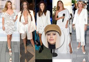 Módní kritička Ina T. se pustila do bílých outfitů celebrit