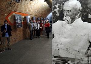 Vzpurného neznaboha Masaryka vyhodili z gymnázia: Výstava připomíná život prvního prezidenta