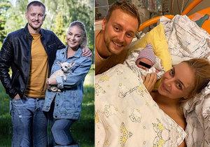 Markéta Konvičková porodila holčičku.