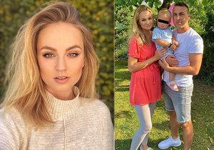 Stačila jedna rodinná fotka a gratulace k možnému druhému těhotenství se miss Tereze Fajksové jen hrnou.