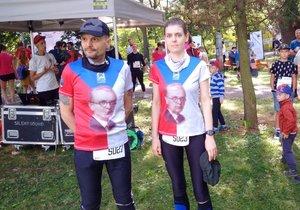 Brňané si sportem připomněli známé osobnosti: Běhali za Miladu Horákovou, za slavného letce i jeptišky