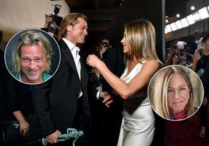 Brad Pitt a Jennifer Anistonová se znovu shledali.