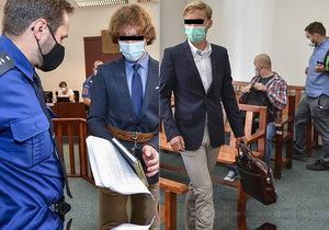 Tomáš F. a Jiří N. u soudu