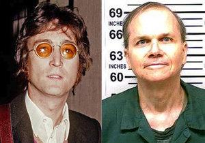 John Lennon a jeho vrah Mark Chapman