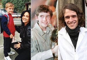 Jak šel čas se synem Lucie Bílé Filipem Kratochvílem až do roku 2020.