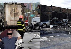 Kamioňák Milan patrně zavinil nehodu na D1: Přátelé na něj vyhlásili veřejnou sbírku, lidé zuří.
