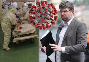 Europoslanec Jiří Pospíšil byl převezen s koronavirem a se zápalem plic na JIP. Informoval o tom sám Pospíšil na svém účtě na twitteru