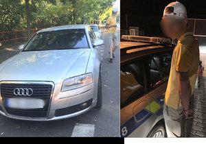 Pražští policisté měli za první říjnový víkend pořádnou fušku. Čtyřikrát totiž kontrolovali tentýž vůz, třikrát v něm seděl stejný zdrogovaný řidič, který sotva dosáhl plnoletosti.