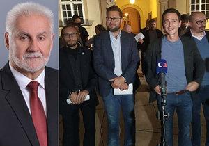 Koalice KDU-ČSL, Pirátů, ODS a STAN na jihu Moravy: Hejtmanem bude Jan Grolich, střídá Šimka