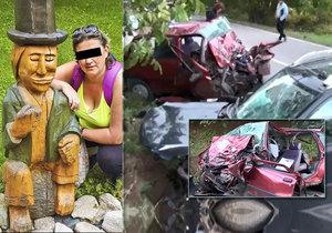 Martinu (†42) zabil opilý řidič při šílené čelní srážce. Její dcera Lenka ji držela za ruku, když umírala.