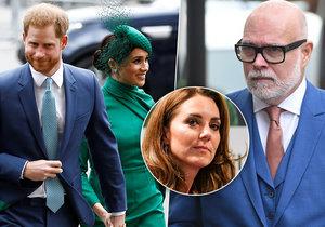 Strýc Kate Middletonové se obul do Sussexů. Držte huby, vzkázal jim