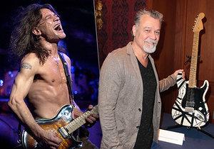 Slavný kytarista Eddie Van Halen (†65) zemřel na rakovinu.