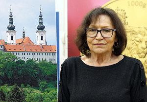 Marta Kubišová se po dvou letech rozloučila s bratrem...