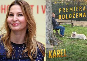 Ivana Gottová se vyjádřila ke druhému odkladu slavnostní premiéry filmu Karel.