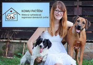 Komu patřím? Studentka Kristýna vymyslela webový vyhledávač ztracených psů a koček
