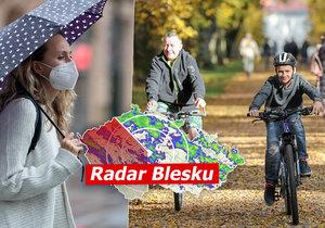 Exhurikán Epsilon přinese do Česka vichr i déšť, sledujte radar Blesku.