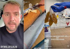 Libor Bouček po covidu překonal strach z bílých plášťů! S čím zamířil do nemocnice?