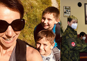 Anna Žáková trpí roztroušenou sklerózou a její mladší syn vzácnou nemocí. Přesto je optimistická a doufá v lepší zítřky