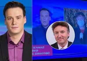 Dohra přešlapu Petra Suchoně v Televizních novinách  Stahují ho  z obrazovky!