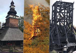 VIDEO: Vyhořelý kostel v zahradě Kinských: Někdo ho zapálil? Vyšetřovatelé promluvili o příčině požáru