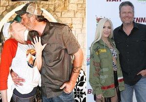 Gwen Stefaniová a Blake Shelton se budou brát.