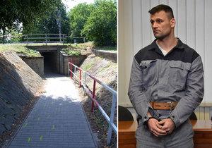 Roman Šupa prchal před policií a najížděl do lidí: Soud mu zpřísnil trest na 16 let