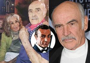 Sean Connery zemřel na demenci.