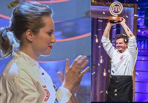 Diváci napínavého finále MasterChefa se radují: Roman si Pavlínu »namazal na chleba«!