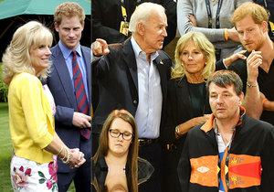 Princ Harry se s Jill Bidenovou přátelí už od roku 2013.