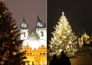 Vánoční Praha: Kdy se rozsvítí stromečky a výzdoba? Tradiční akce městské části ruší