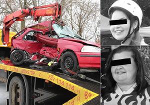 Při nehodě u Kostelce nad Černými lesy zemřela máma s dcerou: Nelu s Věrkou oplakávají místní hasiči