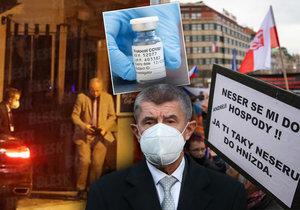 Rok s koronavirem: Šití roušek, rychlá výměna ministrů i vodní děla