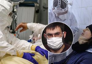 Český vědec Jan Kulveit varuje před novou mutací. Poukazuje především na číslo R