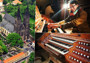 For the fifth year in a row, Ondřej Valenta has been the organist of the Royal Collegiate Chapter of the Church of St.  Peter and Paul in Prague.