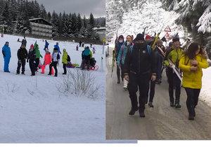Češi opět zaplnili horská střediska