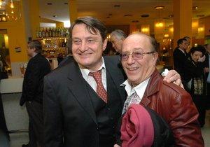 Petr Janda with Ladislav Štaidl