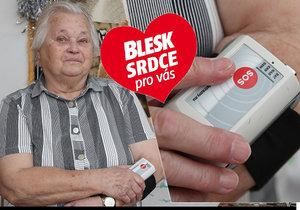 """Přístroj hlídá život seniorů! Když se nehýbu, už mi volají,"""" popisuje Miluše (80)"""