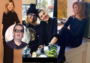 Ex Richarda Müllera Soňa (59) klame věkem: S dcerou (27) vypadají jako sestry!